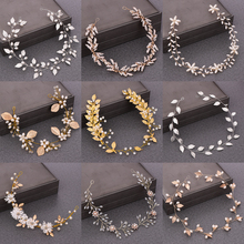 Womens Headband Bridal Hair Accessories Wedding Pearl For Women Bridesmaid Jewelry Tiaras