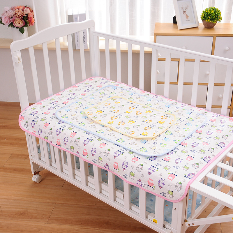 Baby Mattress Urine Pad Waterproof Changing Pad Cotton Breathable Absorbent Urine Mat Washable Baby Bedding