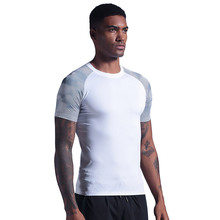 Shirt Running Gym Fitness T-Muscle Quick-Drying Sport Male Tops Slim-Fit Homme Designer