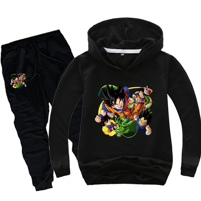 Anime Dragon Ball Sweat Suit 4