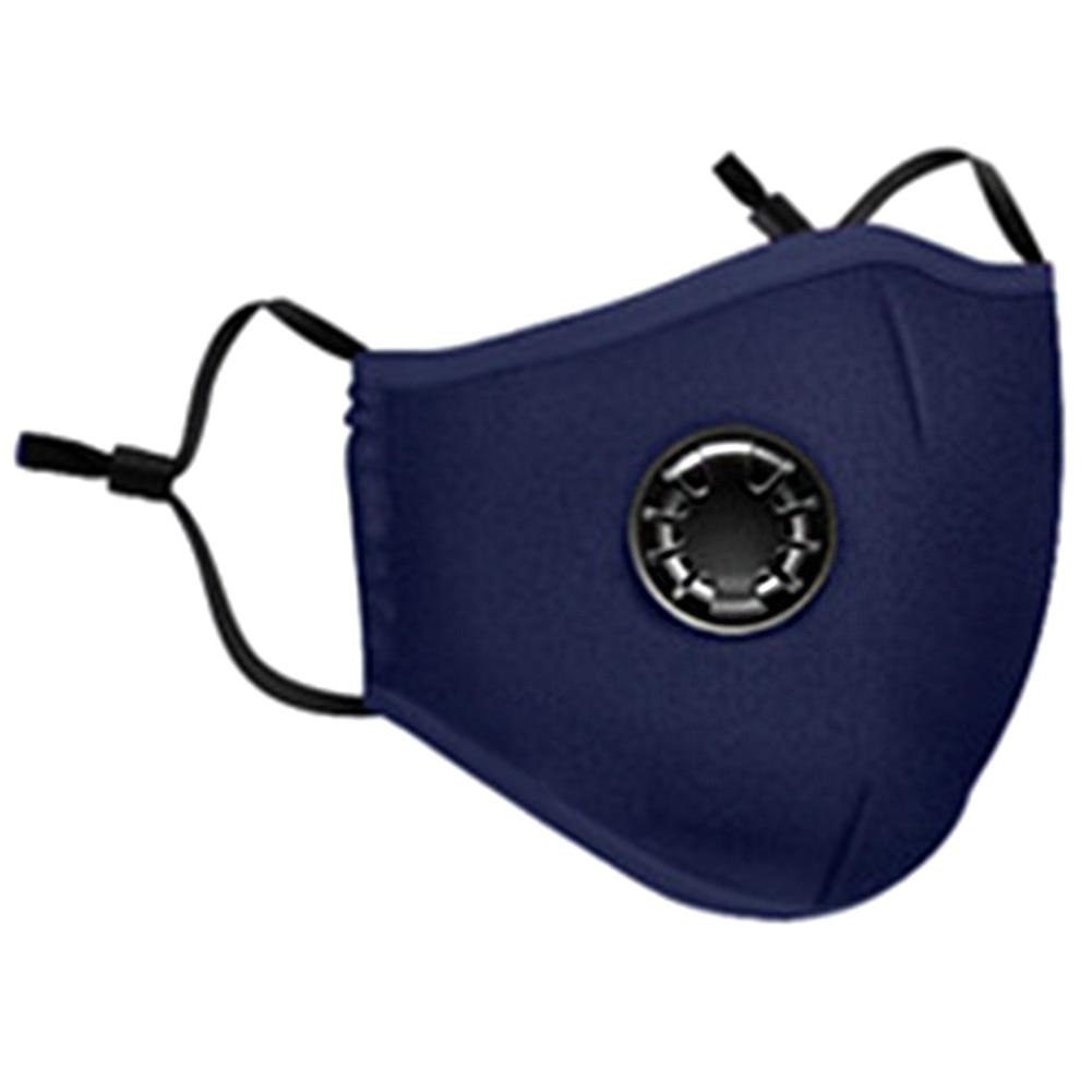 Anti Haze Face Mask Reusable Respirator Unisex Anti Bacteria Activated Carbon Filter PM2.5 Mouth Breath  Outdoor Cotton