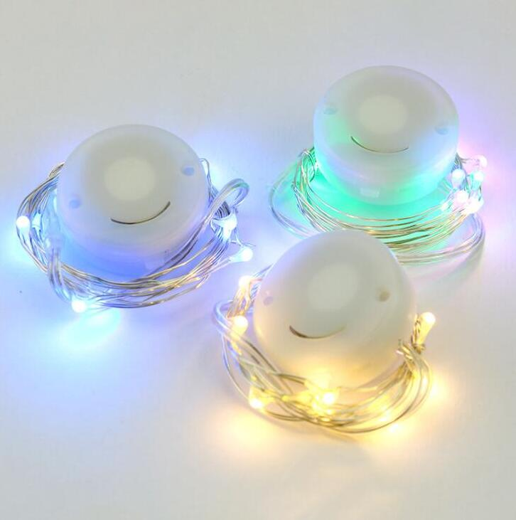Led Night Light Button Cell Led Lamps Candle Light Home Living Room Decoration
