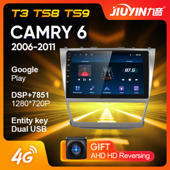 JIUYIN Type C For Toyota Camry 6 XV 40 50 2006 - 2011 Car Radio Multimedia Video Player Navigation GPS No 2din 2 din dvd image