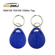 5/10шт карточки em4100 карточка tk4100 чип 125 кГц близость тегов Теги стикер карта ключ брелок RFID-меток маркерное кольцо ФОБ