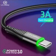 Lovebay Type C 3A LED Light USB Type