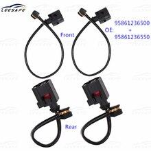 2pairs Front + Rear Brake Pad Sensor Replacement 95861236500 95861236550 for VW Touareg 7P5 7P6 PORSCHE Cayenne 92A Panamera 970