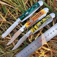[الساعات DP008] زلة مشتركة متعددة شفرة سكين جيب الحديثة التقليدية للطي السكاكين مجلد العظام المواد جمع