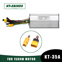 KT Ebike Motor-Controller Electric-Bicycle Kunteng 1500W Brushless Lcd-Light 35A