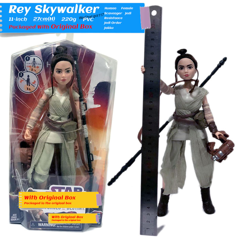 Galaxy Heroine Action Figure Model Toys Rey,Princess Leia,Sabine 11'' Figure Model Toy For Gift,Kids,Collection