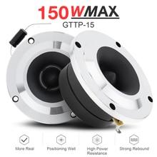 2 Stuks 4 Inch 100W Tweeter Speaker Audio Sound Speaker Volledige Range Luidspreker Hoge Efficiëntie W Condensator Voor Diy auto Audio Systeem