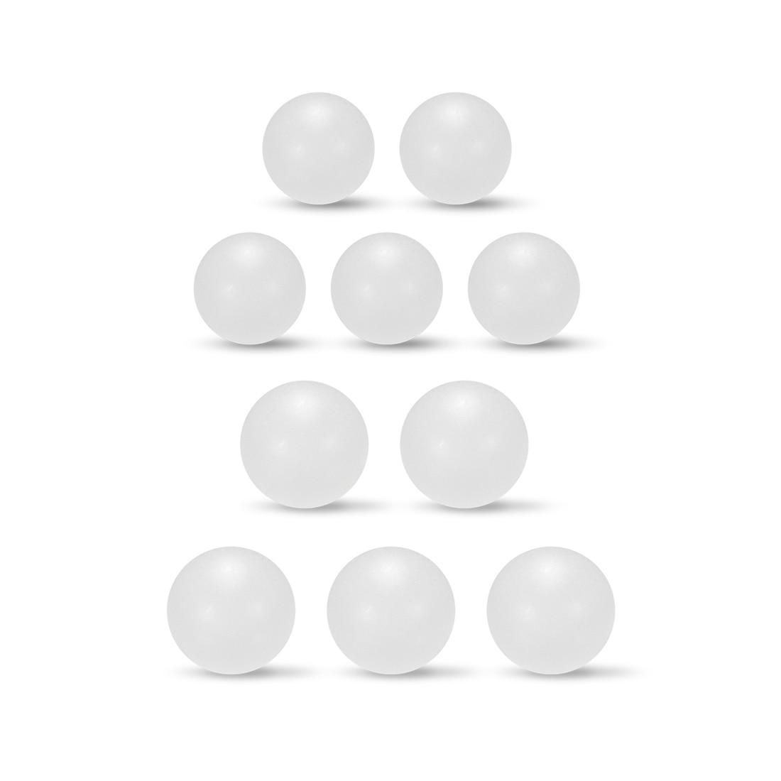 Uxcell 5-300pcs PP Solid Plastic Balls Precision Bearing Ball 2.5mm 3mm 4mm 5mm 7mm 8mm 10mm 11mm 12.5mm 18mm