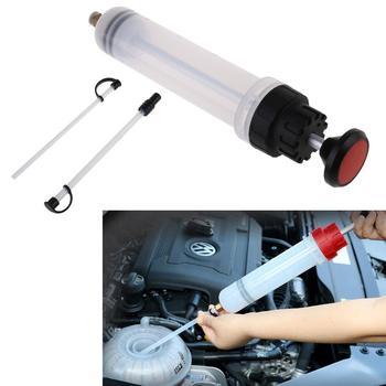 200cc extrator fluido de óleo do carro seringa de enchimento garrafa transferência mão bomba ferramentas