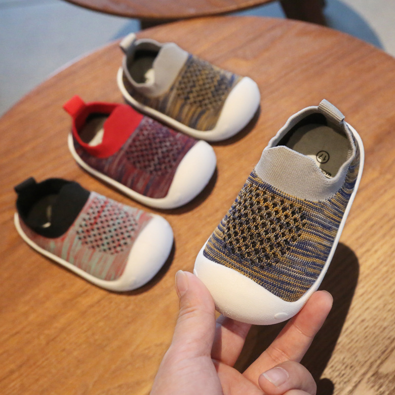 Baby Girls Boys Toddler Shoes Spring Autumn Infant Casual Mesh Shoes Soft Bottom Comfortable Non-slip Kids First Walkers Shoes
