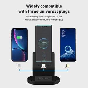 Image 5 - SIKAI 11th Gen 5A Super szybkie ładowanie magnetyczny stojak do ładowania stacji dokującej kabel USB do Huawei Mate 40 Pro magnes szybka ładowarka