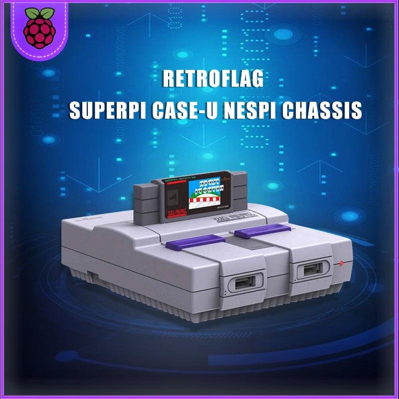 Retroflag SUPERPi CASE-U Con Ventilador Coelling + Disipador De Calor Para Raspberry Pi 3B Plus (3B +)/3B