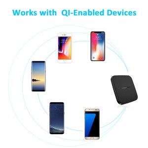 Image 5 - CHOETECH cargador inalámbrico QI para móvil, Cargador USB tipo C de 10W, para iPhone X, Xs, Xr, 7, 8 Plus, Samsung Galaxy S9, S8