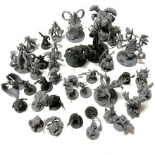 Lot Board Game Miniatures Model Toys Kits Zombie Monsters Cthulhu Wargame Role Playing Figures For Boy(China)