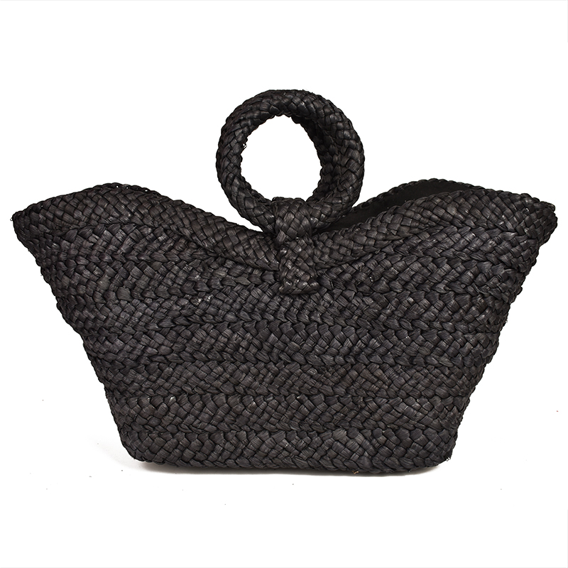 Pure Natural Straw Bag 6-color Beach Female Large Capacity Travel Shopping Bag Ladies Hand Bags