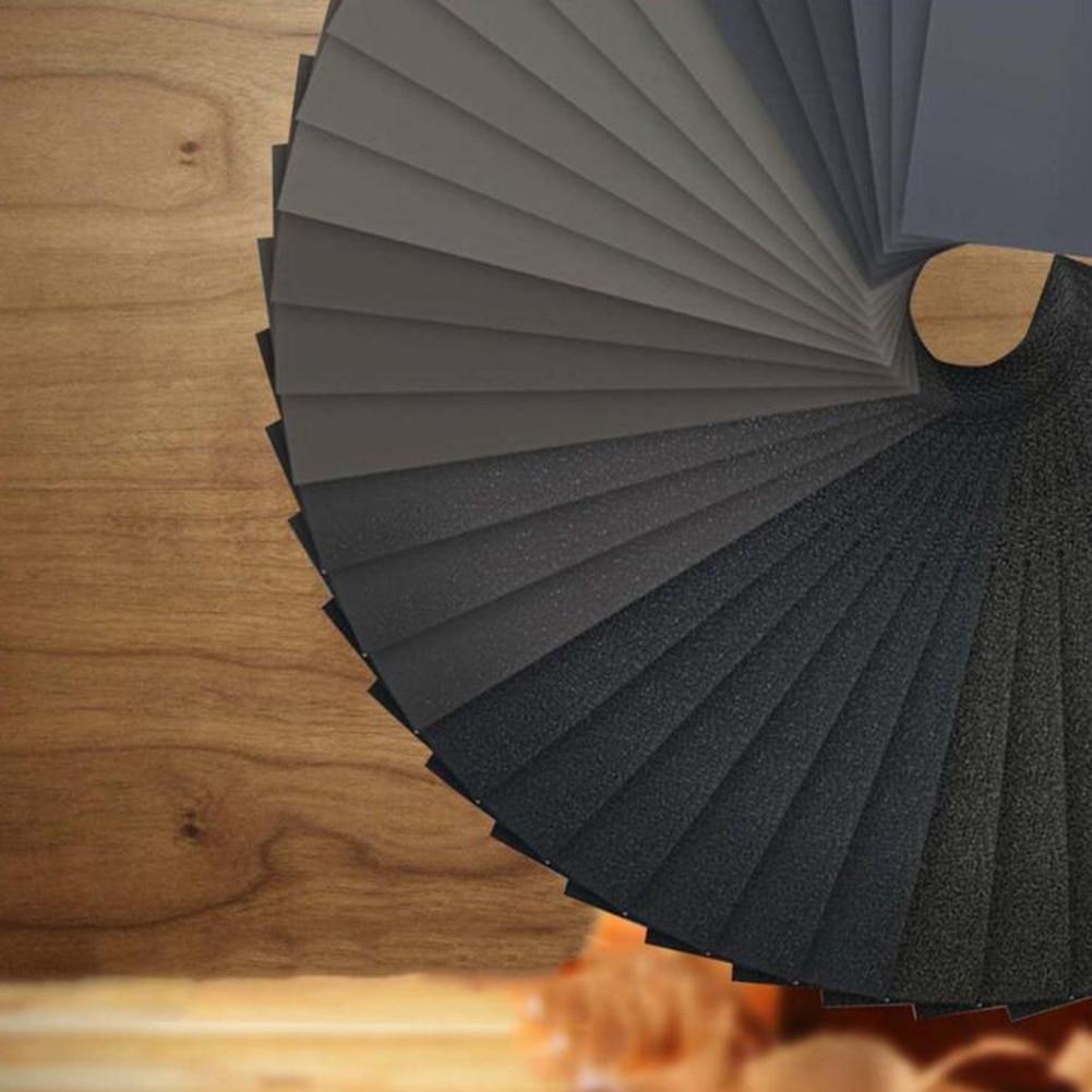42Pc Waterproof Sandpaper Assortment Abrasive Paper Sheets For Automotive Sanding Wood Furniture Finishing Dropship