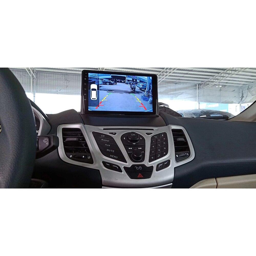 ChoGath 10 Inch Car Multimedia Player Quad Core 1024*600 Android 8.0 Car Radio For Ford Fiesta