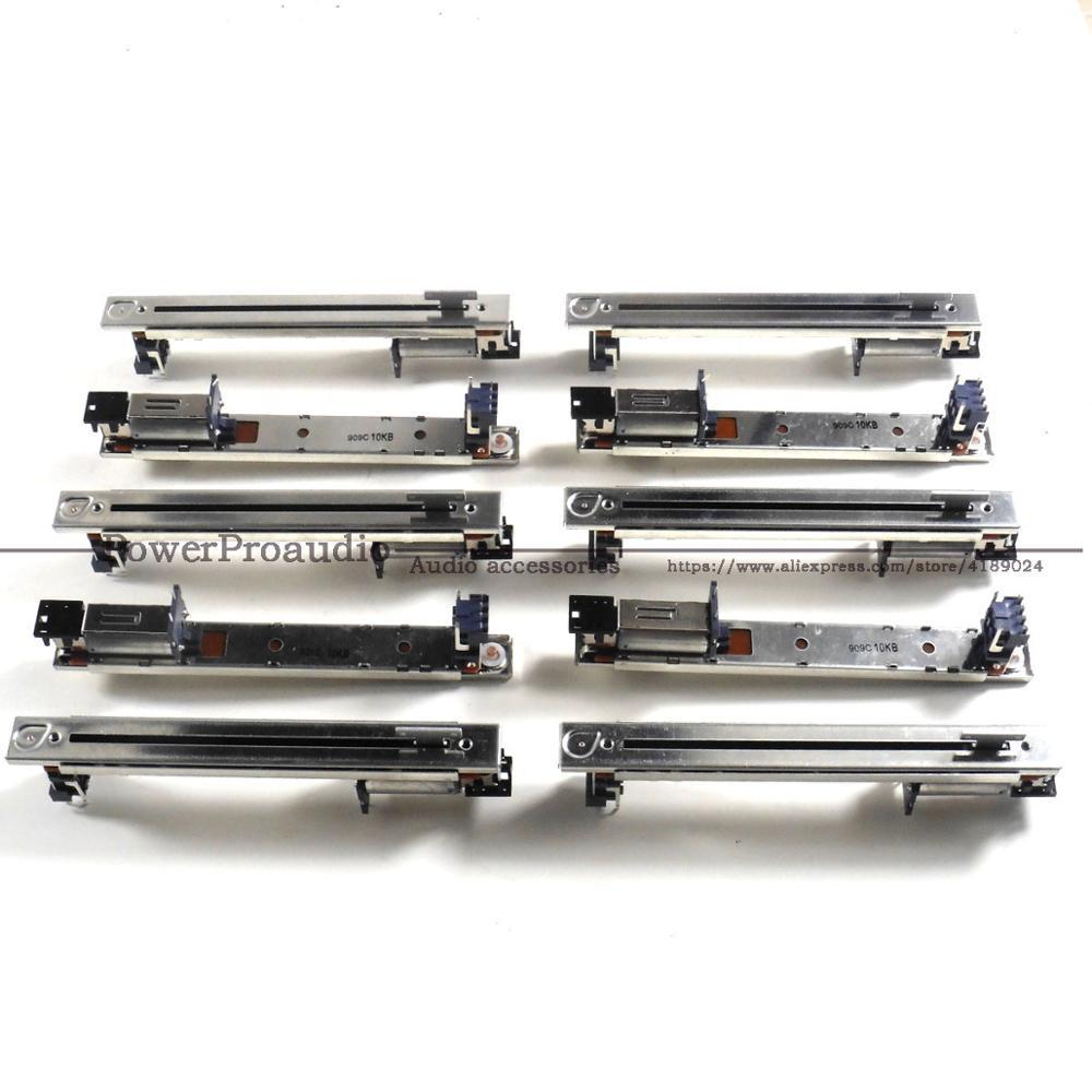 Potenciômetros para Yamaha Original Misturador Slide Elétrico Fader Yamaha nc Ls9 M7cl Dm1000 Dm200 B10k-128 10 Pçs