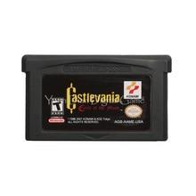 Na konsolę Nintendo GBA gra wideo karta konsoli Castlevania koło księżyca język angielski wersja amerykańska
