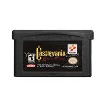 Pour Nintendo GBA jeu vidéo cartouche Console carte Castlevania cercle de la lune langue anglaise Version américaine