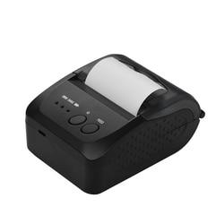 5809DD przenośna Mini bezpośrednia drukarka termiczna bezprzewodowa termiczna drukarka paragonów POS USB/BT drukarka przenośna ue wtyczka