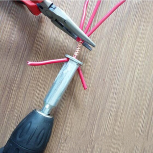 Image 3 - Electrician General Automatic Wire Stripper and twisted wire Tool Quick Automatic Stripper Line Cable Peeling Twisting Connector