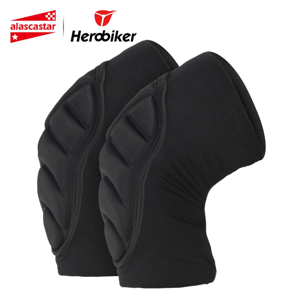 HEROBIKER Knee Pad Motorcycle Knee Protection Racing Guard Protective Gear Sports Knee Pads Protect Cycling Knee Protector