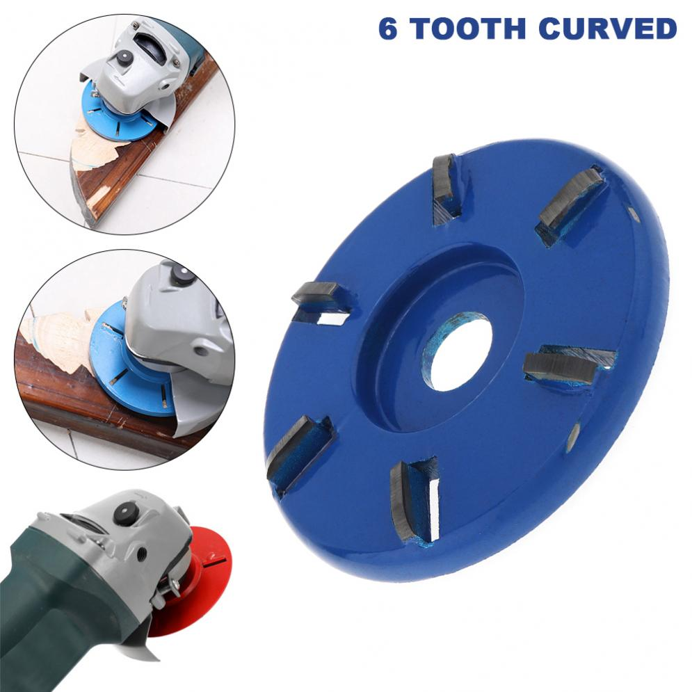 6 Teeth Wood Carving Disc Milling Cutting Engraving Hand Tools Tungsten Steel