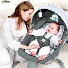 Mastela baby artefakt elektrische baby schaukel stuhl mit baby tröstlich stuhl baby wiege schlafen liege kind schaukel tisch