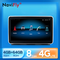 NaviFly for Benz ML W166/GL X166 2012 2015 NTG 4.5 Car Multimedia Video Player Navigation GPS Android IPS 9 WIFI 4G BT