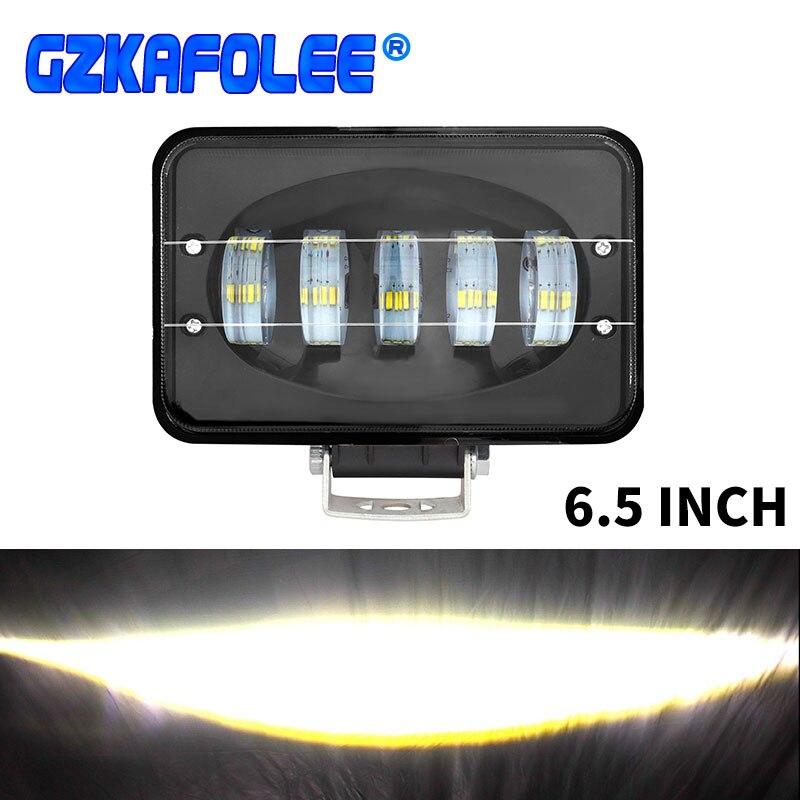GZKAFOLEE 50 Вт светильник высокой мощности 6000K автомобильный рабочий светильник комбинированный луч для авто RZR внедорожный джип носорог песчаный рельс Canam Багги UTV Световая рейка/рабочее освещение      АлиЭкспресс