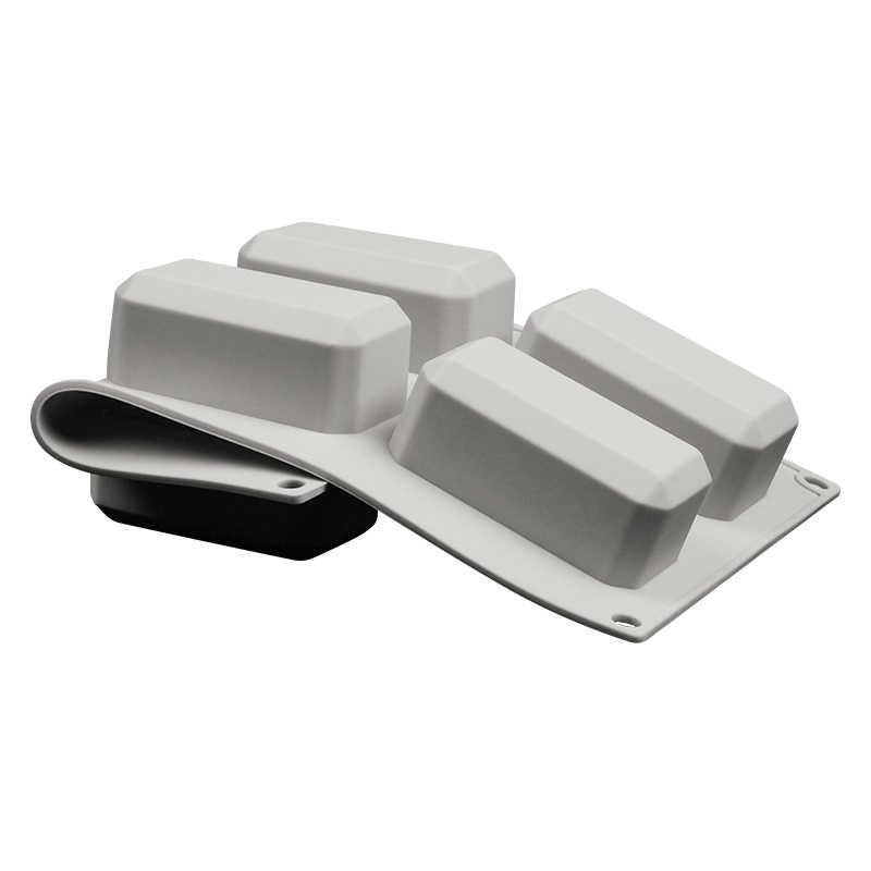 6 полости многоразовый силикон форма для мыла для DIY Изготовление мыла прямоугольная ручная работа мыло ручной работы форма для дома ванная комната