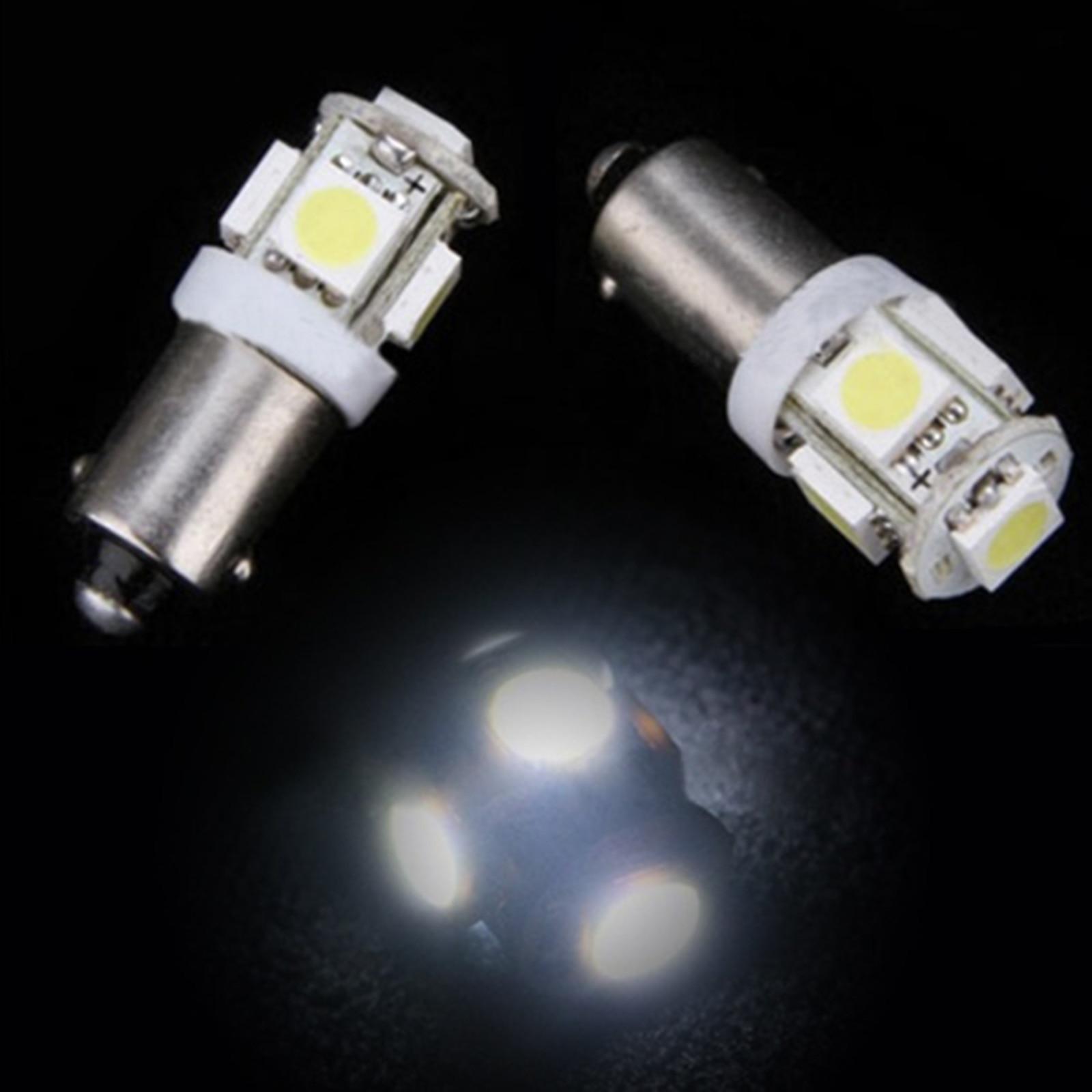 2pcs T11 BA9S 5050 5SMD Car LED Light Auto Bulb Lamp T4W H6W Indicator Light OE88