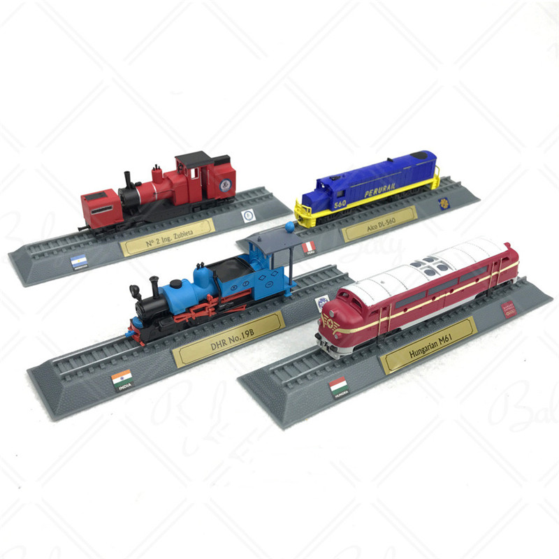 One Set N Scale Model Trains Power Train Steam Model Steam Locomotives Plastic Static Model Decoration