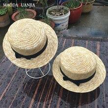 Соломенная шляпа с полями летние шляпы для женщин пляжная кепка
