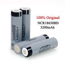 Original nouveau NCR18650BD 3200mAh 18650 3.7V lithium batterie Rechargeable 10A décharge pour lampe de poche