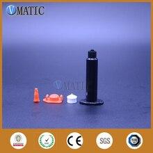 Miễn Phí Vận Chuyển Sỉ 1800 Bộ/lô 5cc/Ml UV Đen Ống Tiêm Nòng Với Piston, Chặn & Cấp Bao Da