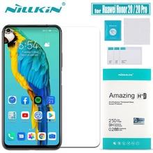Huawei 社の名誉 20 プロ強化ガラススクリーンプロテクター Nillkin 9H ハードクリア安全 Huawei 社の名誉 20 プロ保護ガラス