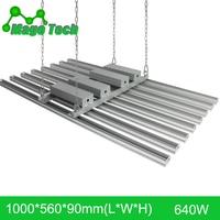 640W LED Grow Light Heatsink Grow Strip Light Aluminum Heat Sink 1M Grow Lighting Heatsink Only