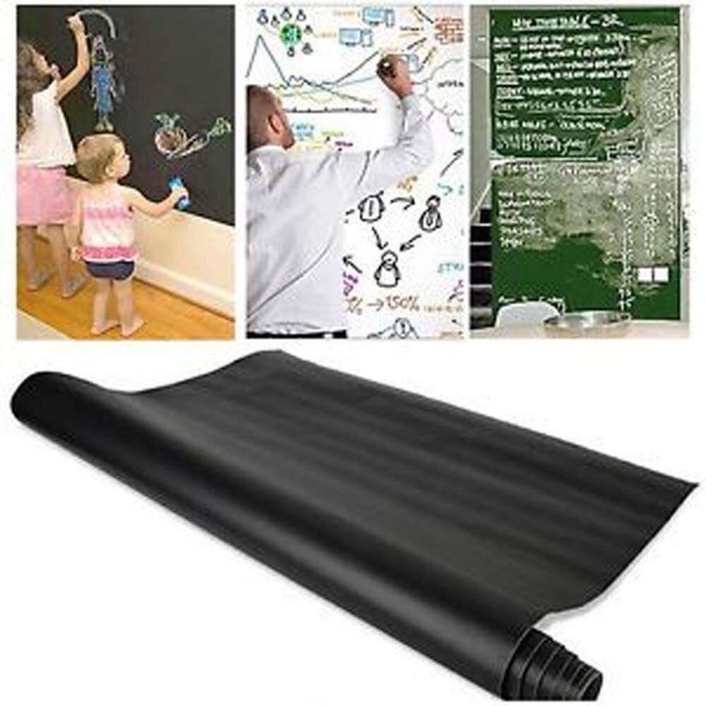 Big Sale²Decal Chalk-Board Paper School-Supplies Classroom Removable Wall-Sticker Black Vinylτ