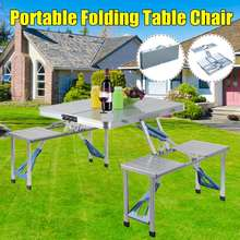 Picnic Table Chair Aluminium-Alloy Outdoor Camping Ultra-Light Waterproof