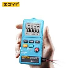 ZOYI ZT08 Автоматический цифровой мультиметр True-RMS 8000 отсчетов вольтметр переменного тока, постоянного тока, Ом, измеритель частоты напряжения, портативный светодиодный светильник