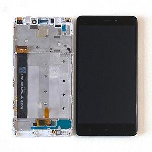 Image 3 - המקורי M & סן עבור Xiaomi Redmi הערה 4 הערה 4 מדיאטק MTK Helio X20 3GB 32GB LCD מסך תצוגה + מגע Digitizer מסגרת 7 חורים