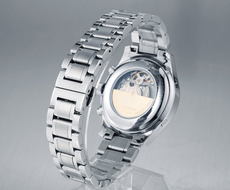 Hcfa21c3f5ee240a692155a65005e3a7aZ GUANQIN Relogio Masculino Automatic Mechanical Men Watches Waterproof Calendar Moon Leather Wristwatch otomatik erkek saat