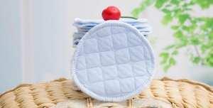 Breast-Pads Reusable Cotton Breastfeeding-Accessory Organic Nursing Waterproof 1000PCS