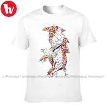 Raven T Shirt Mens Harajuku T Shirts Short Sleeves Cartoon T-Shirt Fashion Print Tee Shirt Big Size 5XL