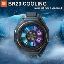 Em estoque! Ventilador de refrigeração xiaomi shark 3 pro 2 pro, cooler original, com luz rgb para iphone xs huawei p20 p30 p40